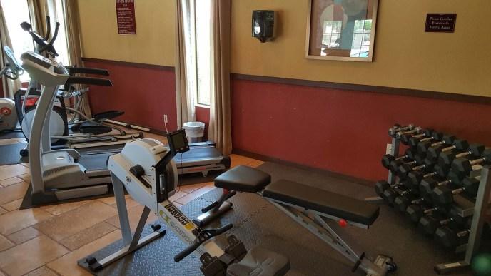 Sun Canyon Rec Center Exercise Area