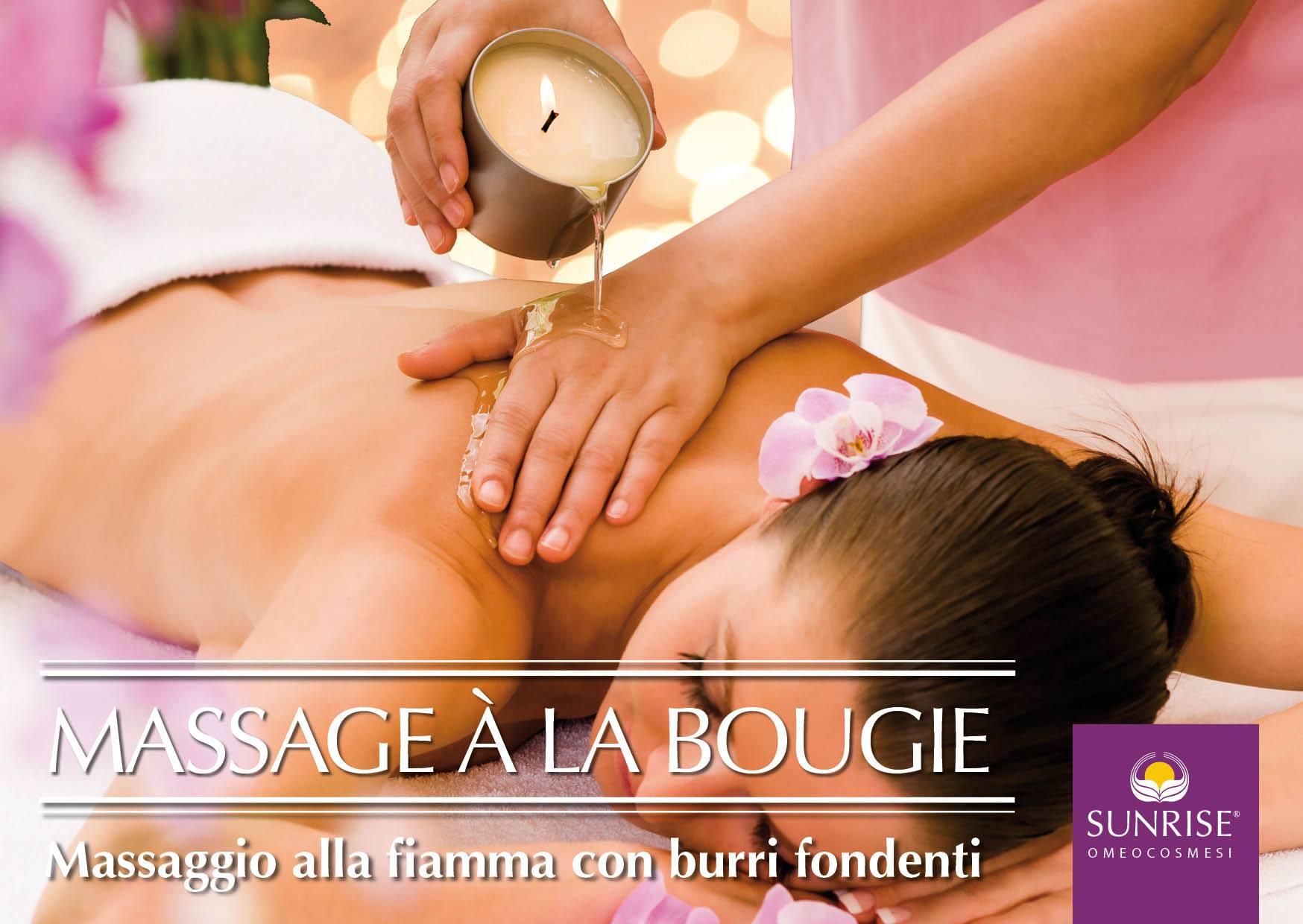 massaggio candele