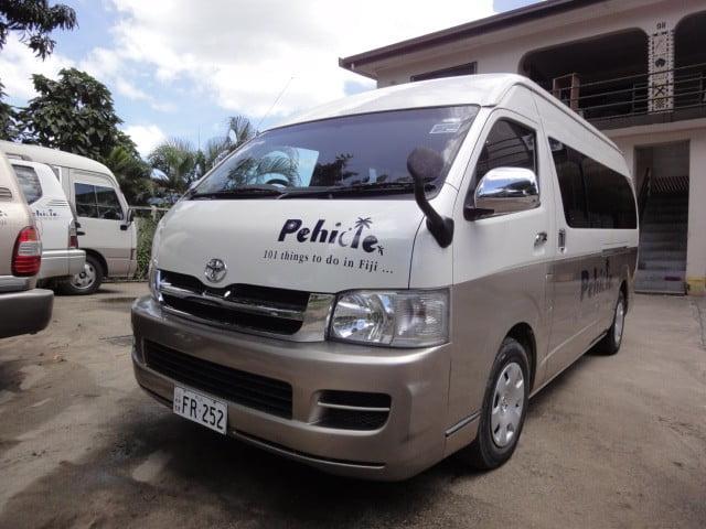 Pehicle Tours Fiji