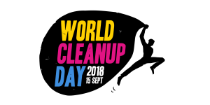 Saturday 15th September 2018 is World Clean-Up Day