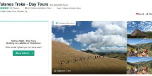 Talanoa Treks hits 100 TripAdvisor reviews!