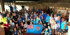 Volivoli Beach Resort guests plant mangroves to celebrate Fiji Day 2018