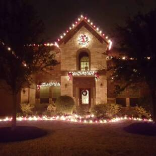 Holiday Lights and Decorations in Katy, TX
