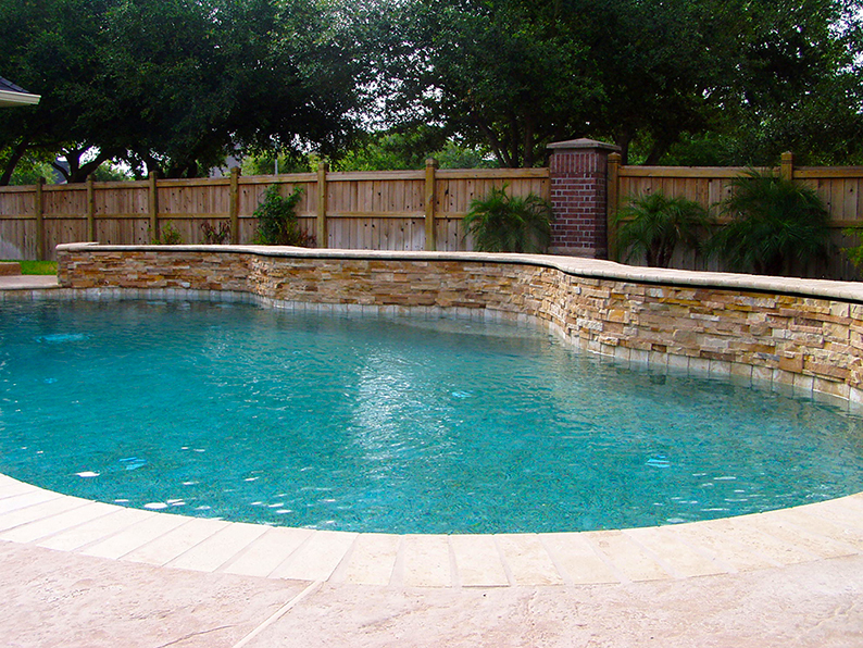 Katy Swimming Pool Remodel After