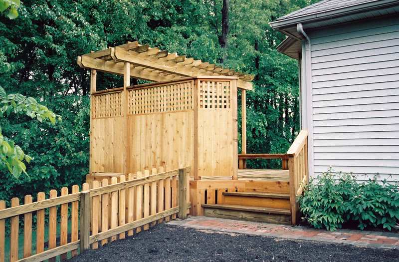 Pergola Trellis Builder Columbus Ohio For Deck Shade