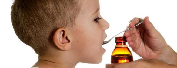 Symptomatisk hoste-terapi til børn