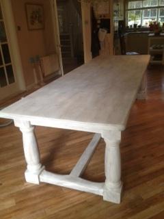 Limewaxing A Pine Table Sundaesmile1