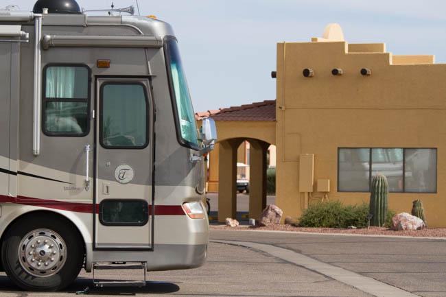 Class A Motorhomes have a place at Sundance 1 RV Resort! RV Park & Resort