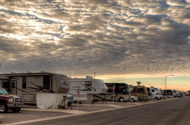 Arizona RV Resort in Casa Grande