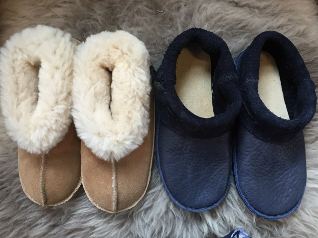 Colorado Slipper and Santa Fe moccasin with removable insole