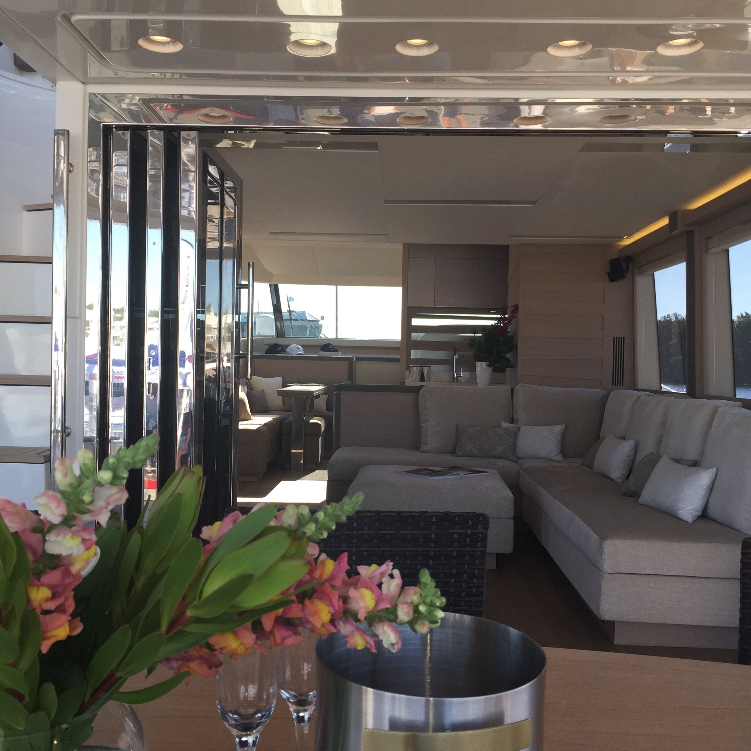 MCY70 Displaying At Sanctuary Cove Monte Carlo Yachts