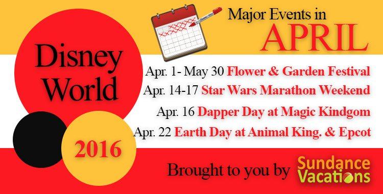 sundance vacations; sundance vacations blog; disney events; disney crowds april;disney world april; things to do in disney april;