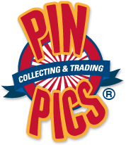 PinPics.com logo sundance vacations guide for disney pin trading and collecting