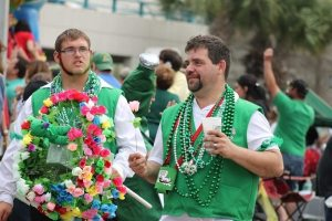 Pack your favorite green attire for the Irish Hooley Fest!