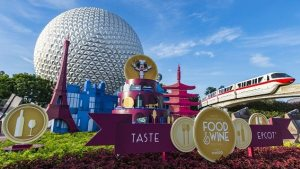 After the races, participants are invited to the after party at Epcot for the International Food & Wine Festival!(Matt Stroshane, photographer, courtest of Disney World)