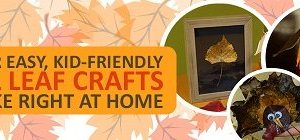 Fall Leaf Crafts- Fall DIY Decorations by Sundance Vacations