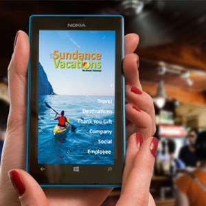 Downoad our app – Sundance Vacations
