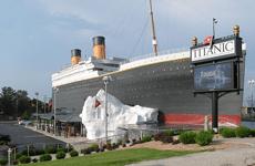 Sundance vacations Titanic Museum