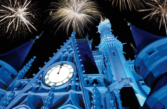 Ring in the New Year Where Dreams Come True!