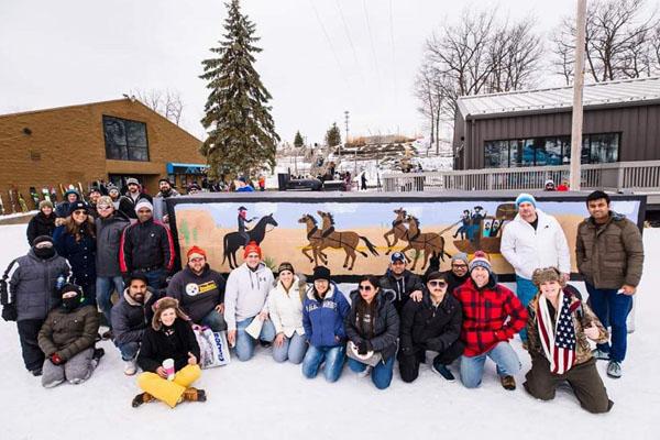 Winter Fun in the Poconos