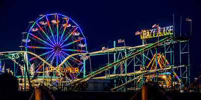 Sundance Vacations Steel Pier Amusement Park