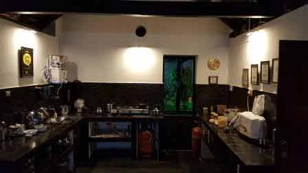 View of The Kitchen at Sundara Mahal