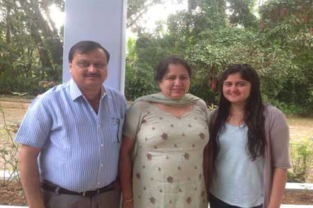 Pure Vegetarian, Jain food, Vegan Homestay Guests Harsh,Kiran and Aditi Tiwari
