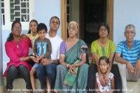Sundara Mahal Vegetarian Homestay guests Anuthama and family
