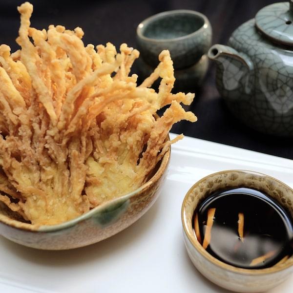 Crispy Enoki Mushroom