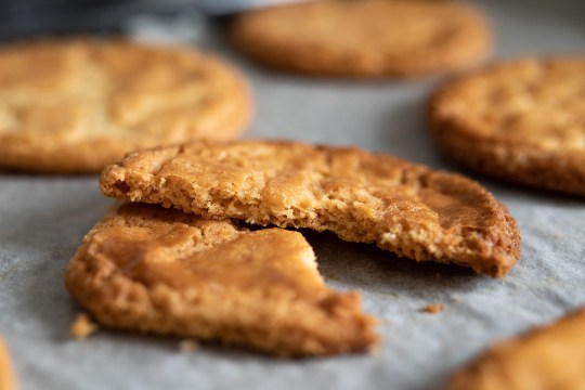 Sablés bretons are French shortbread cookies
