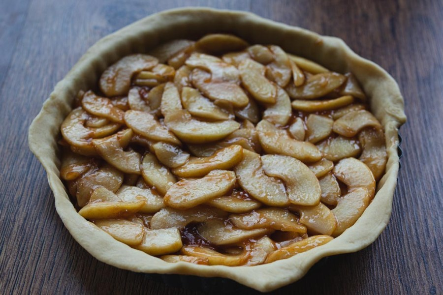 Apple tart filling