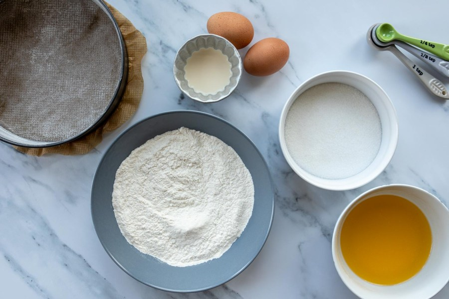 ingredients for toscakaka