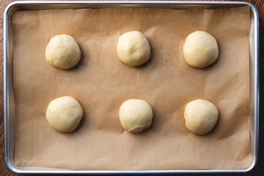 divide the kolache dough