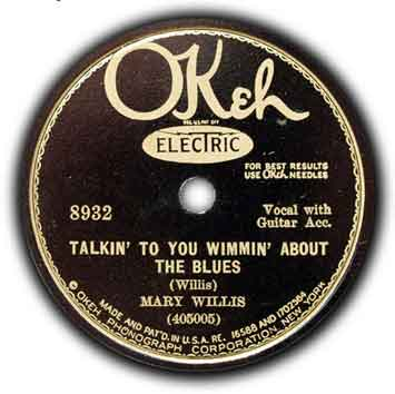 Blind Willie McTell & Mary Willis - Talkin' to You Wimmen About the Blues