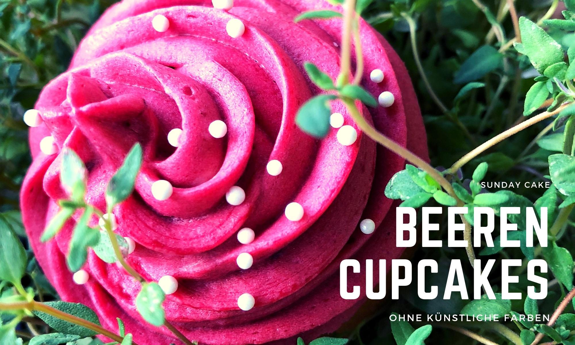 Beeren-Cupcakes