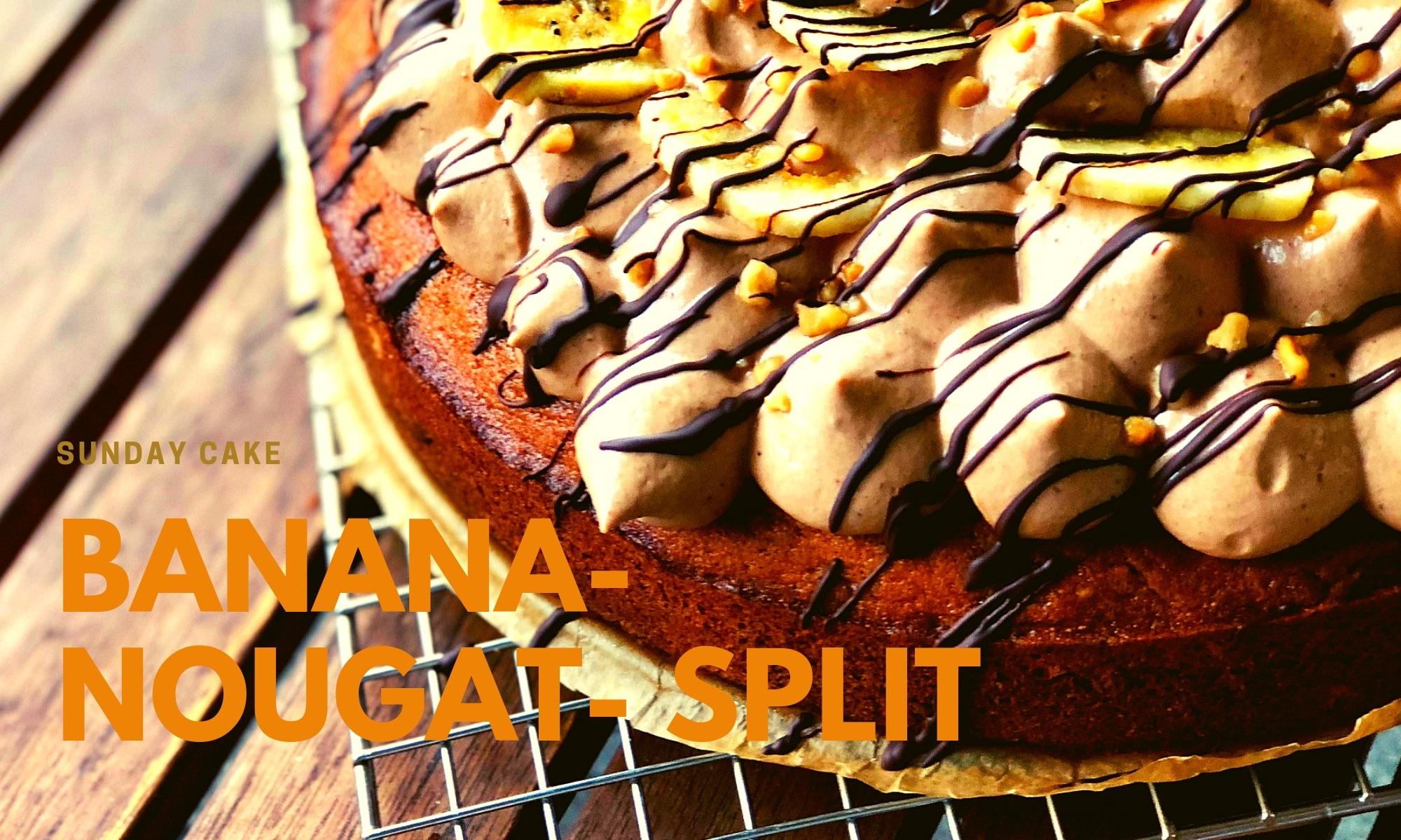 Banana-Nougat-Split