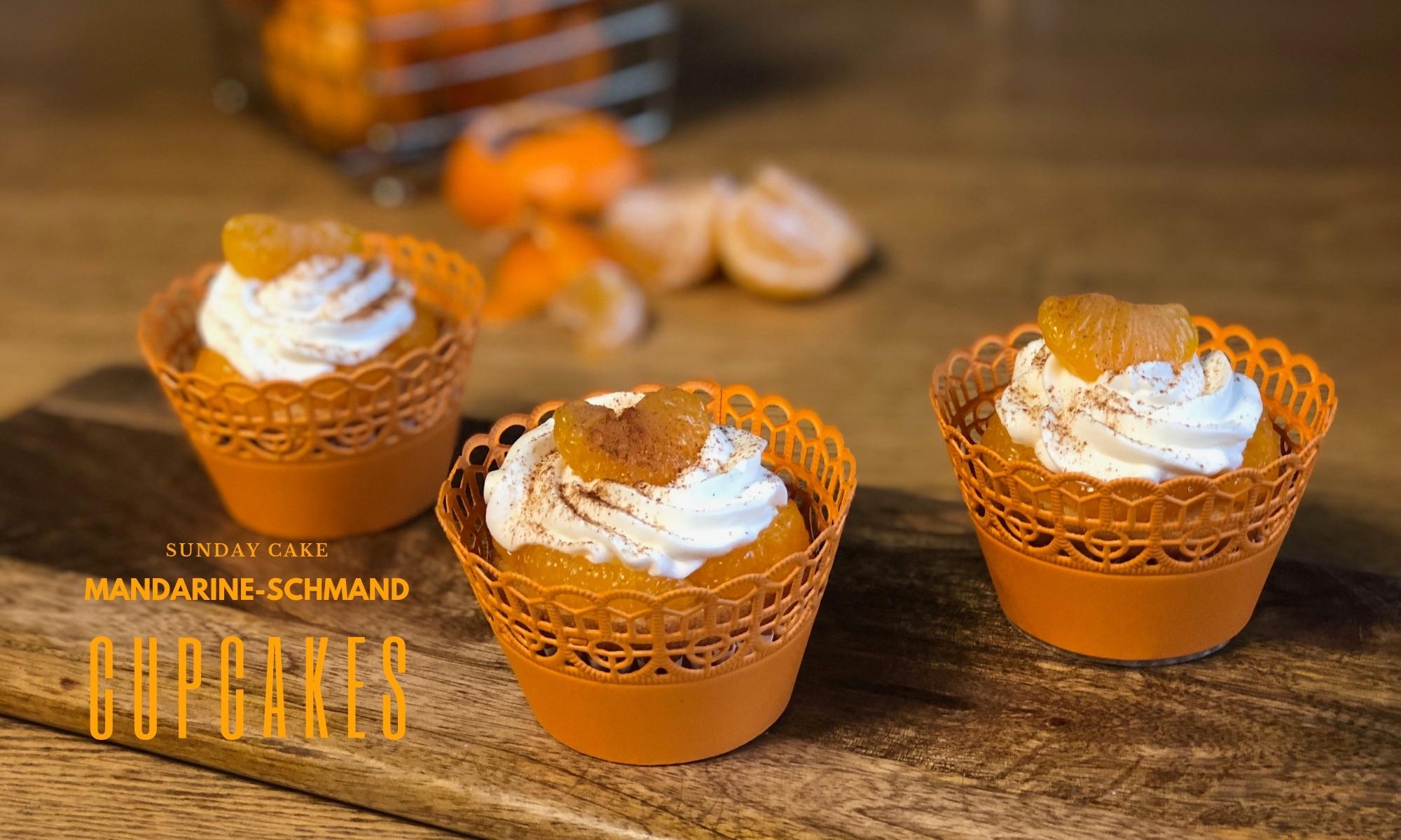 Fruchtig Frische Mandarine Schmand Cupcakes Sunday Cake