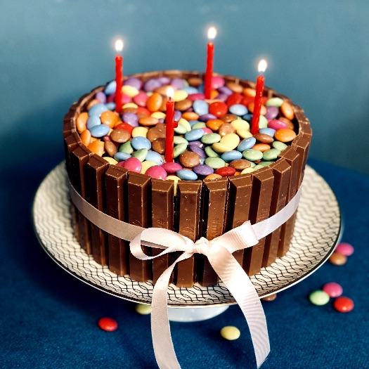 Smarties Geburtstagskuchen_5
