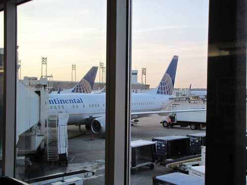 Texas aeroporto houston contineltal airlines