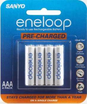 low self discharge NiMH pre charged rechargeable battery bateria pilha recarregavel