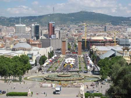 Praça de Espanha Barcelona
