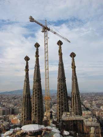 torres da sagrada familia