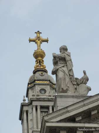 detalhe Catedral de Saint Paul