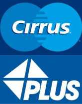 Cirrus plus master card visa maestro electron
