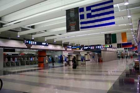 metrô de chicago - estação do aeroporto
