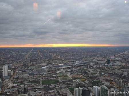 360 Chicago (antido John Hancock Observatory) - vista do alto 2