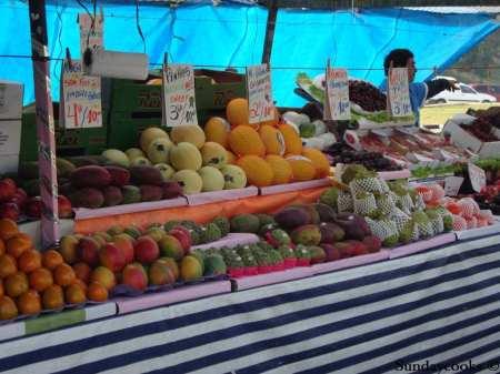feira do pacaembu frutas