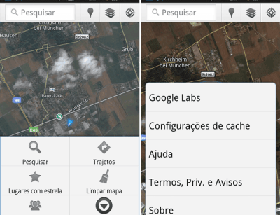 download de area do mapa google maps offline cache