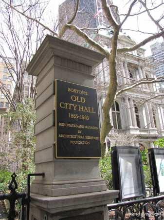 Boston Freedom Trail Old City Hall