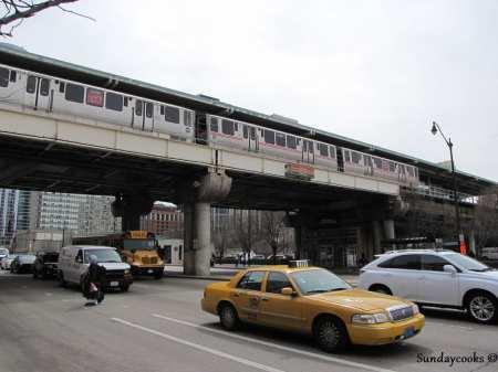 Como ir do aeroporto ao centro de Chicago - Táxi